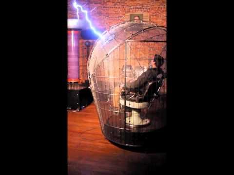 Faraday-coil rik-allen Spark-museum